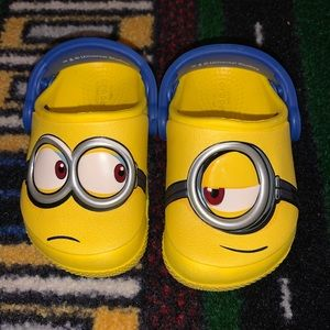 Minion Crocs Toddler Size 5
